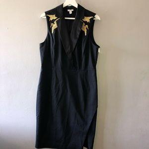 Altuzarra for Target Black Twill Dress Size 14